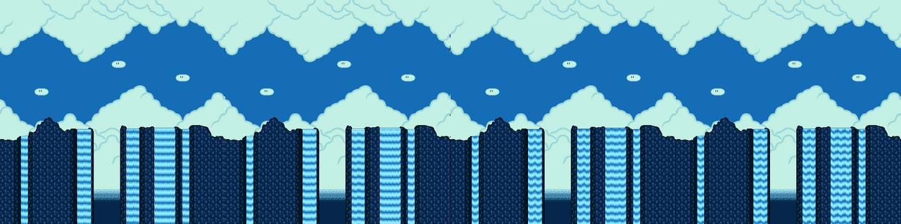 Animation Frames Waterfall