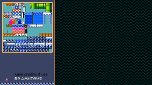 SMB2 - IceCave Tileset and Background