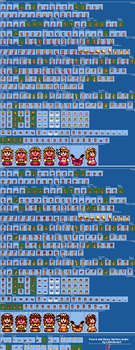 SMM2 - Peach and Daisy Player SMW Style