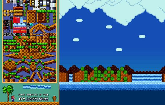 GreenHills in SMW Style