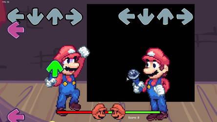 Mario in FNF - Showcase #2