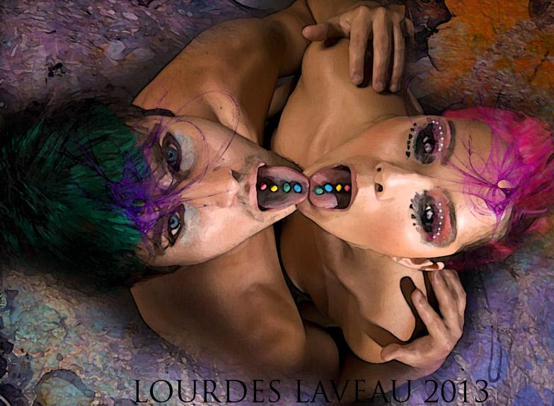 *TASTE THE RAINBOW* by LOURDES-LAVEAU