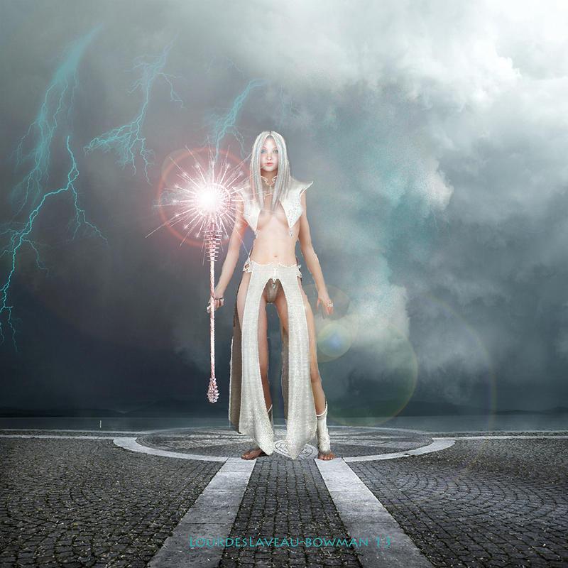 The Sorceress by LOURDES-LAVEAU
