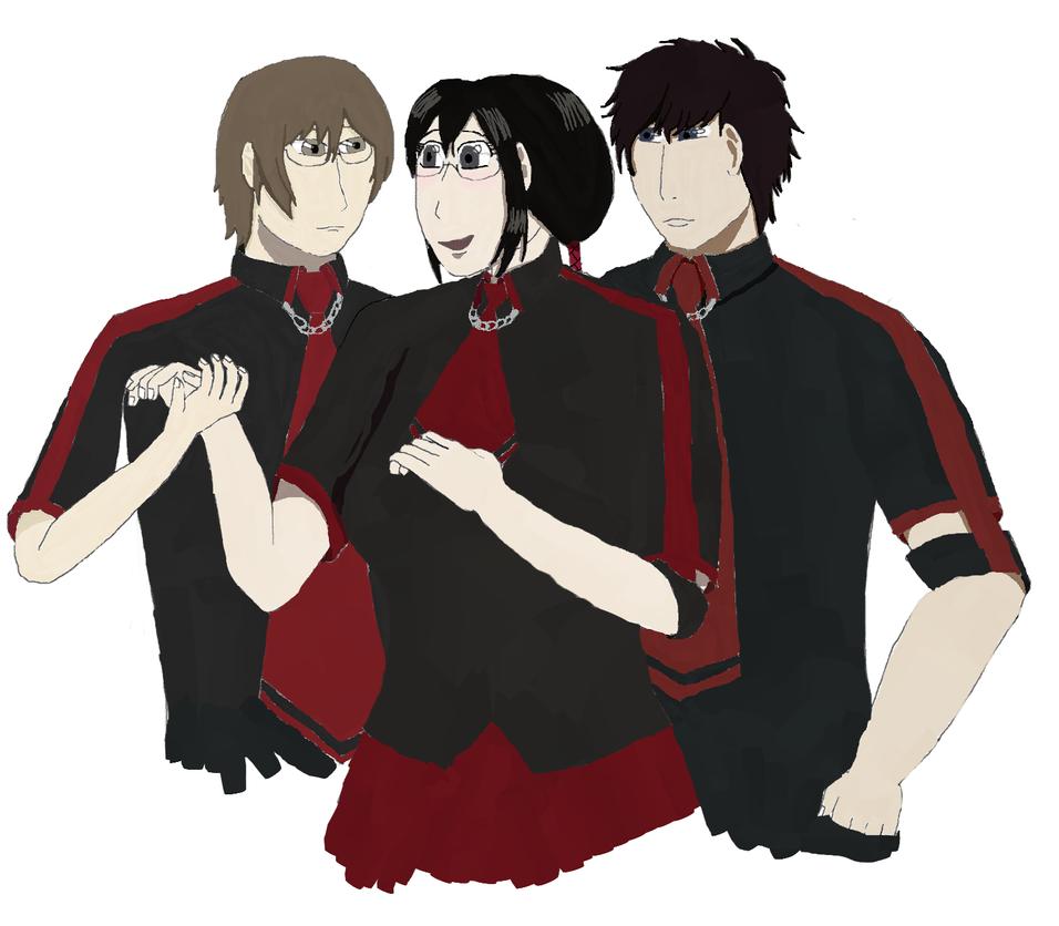 C: Choose Itsuki, Saya! By AnimeLoverWoman On