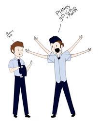 Basically me at Civil Air Patrol by starrynightmlp