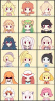 Chibi Smash Girls