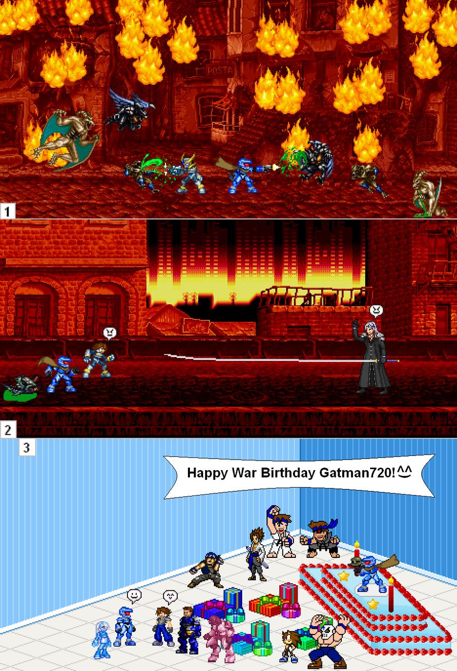 Happy War Birthday Gatman720 by Darkblane257