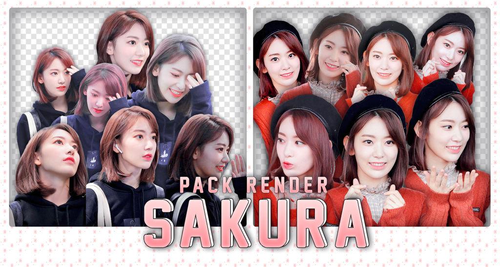 PACK RENDER MIYAWAKI SAKURA~ by kyungwoniee04 on DeviantArt