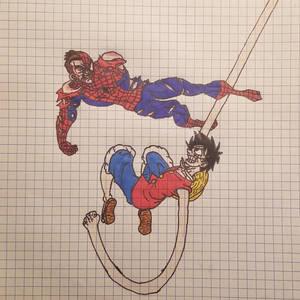 Spider-Man V.S Monkey D Luffy