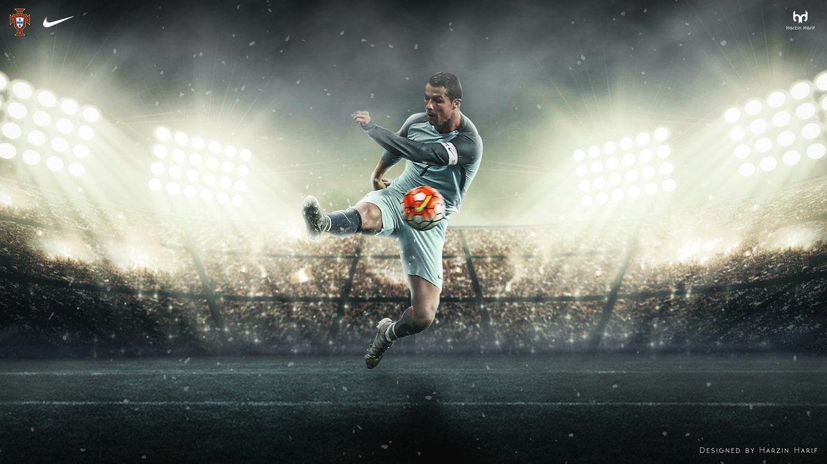 Cristiano Ronaldo 2017 Portugal Wallpaper