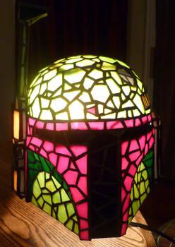 Boba Fett Stained Glass Helmet