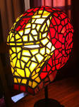 Iron Man Stained Glass Side