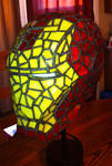 Iron Man Stained Glass Off