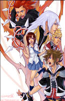 KH2 poster by 2beats