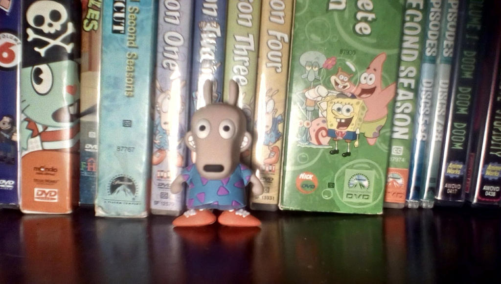 Rare Rocko Figure by SquirrelCat1998V2