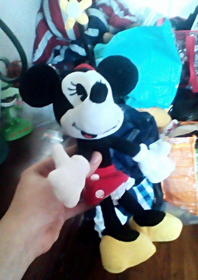 2013 Disney Shorts Minnie Mouse Plush (2) by SquirrelCat1998V2