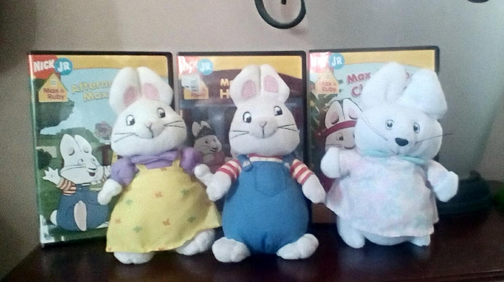 Max And Ruby Collection by SquirrelCat1998V2