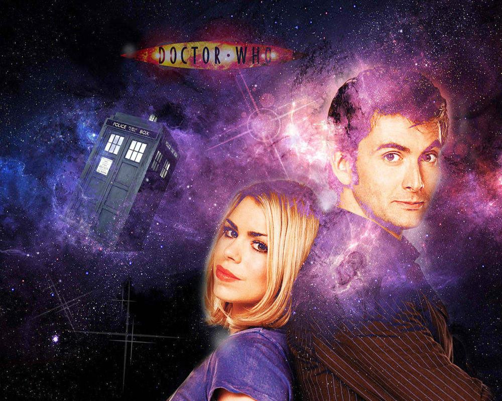 10th Doctor And Rose By WERA1166 On