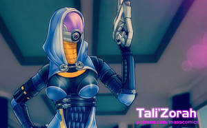 Tali'Zorah by Eromaxi