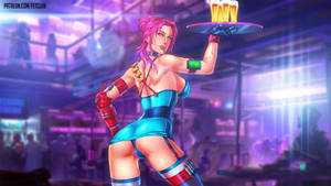 Cyber Waitress