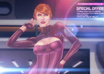 Mass Effect: Kelly Chambers