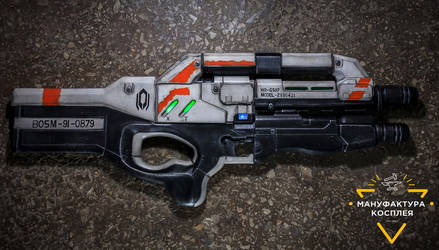 Cerberus Harrier Assault Rifle cosplay replica