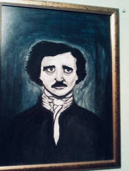Tribute to Edgar Allan Poe by PeterWhale