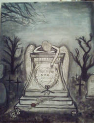 The Angel of Grief by PeterWhale
