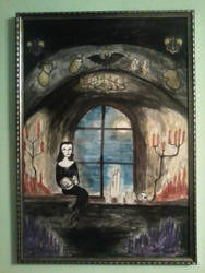 The Tribute to Vampira (second picture) by PeterWhale