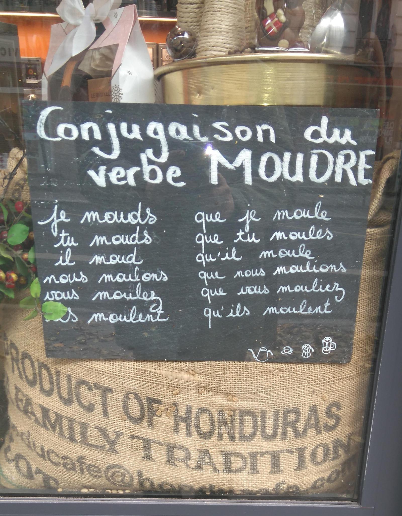 Conjugaison Du Verbe Moudre By Golfedulexique On Deviantart