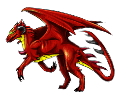 Pixel art Lizadragon by Rametic