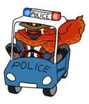 Small police cars