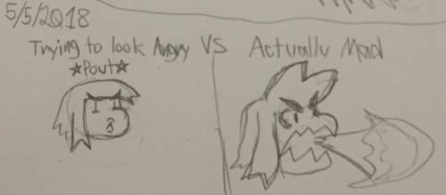Angry Me Scribb
