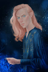 Finrod by NimrodelDark