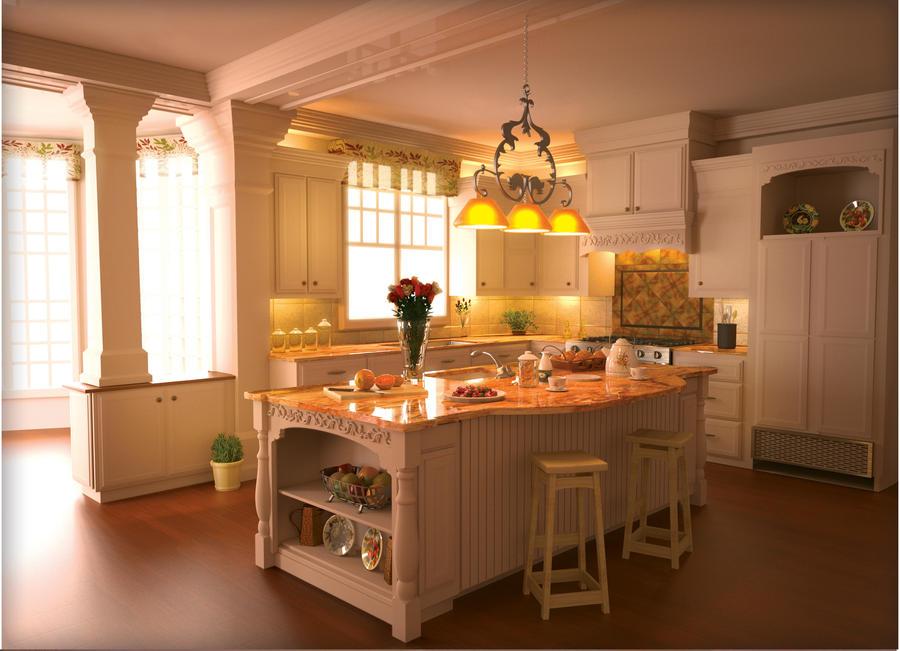 Kitchen Render By Nicolasbulchak ...