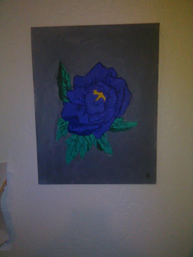Purple Flower by ghostlover106