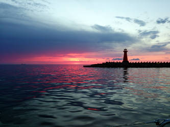 Sunrise after storm