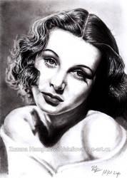 Hedy Lamarr by Lillian-Bann