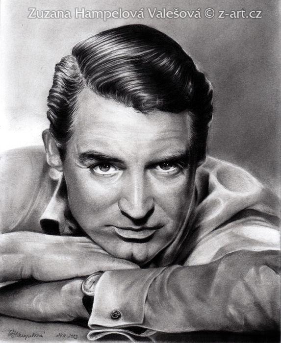 Cary Grant by Lillian-Bann