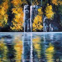 Autumn lights by Lillian-Bann