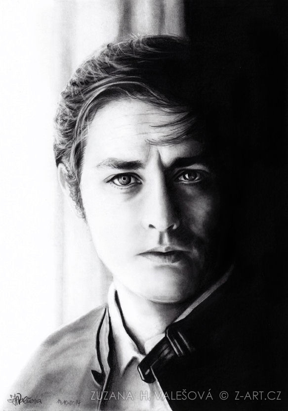 Alain Delon by Lillian-Bann