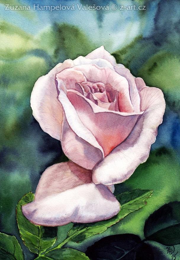 Rosebud by Lillian-Bann