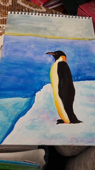 penguin by TaitGallery