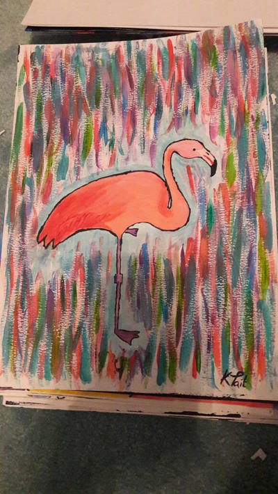 flamingo by TaitGallery
