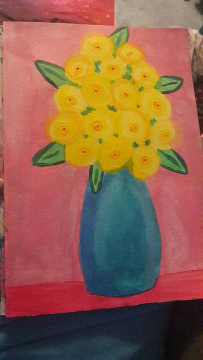 Yellow roses by TaitGallery