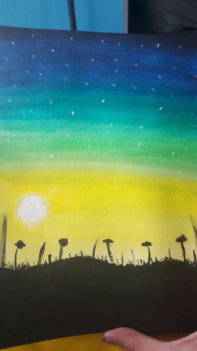 field at twilight  by TaitGallery