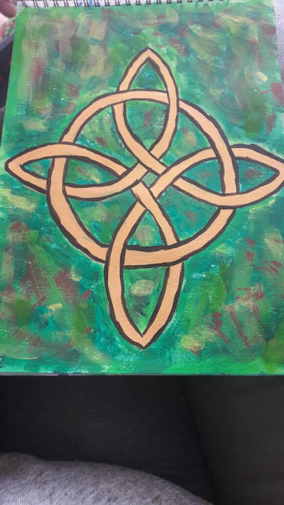 compass rose Celtic knot by TaitGallery