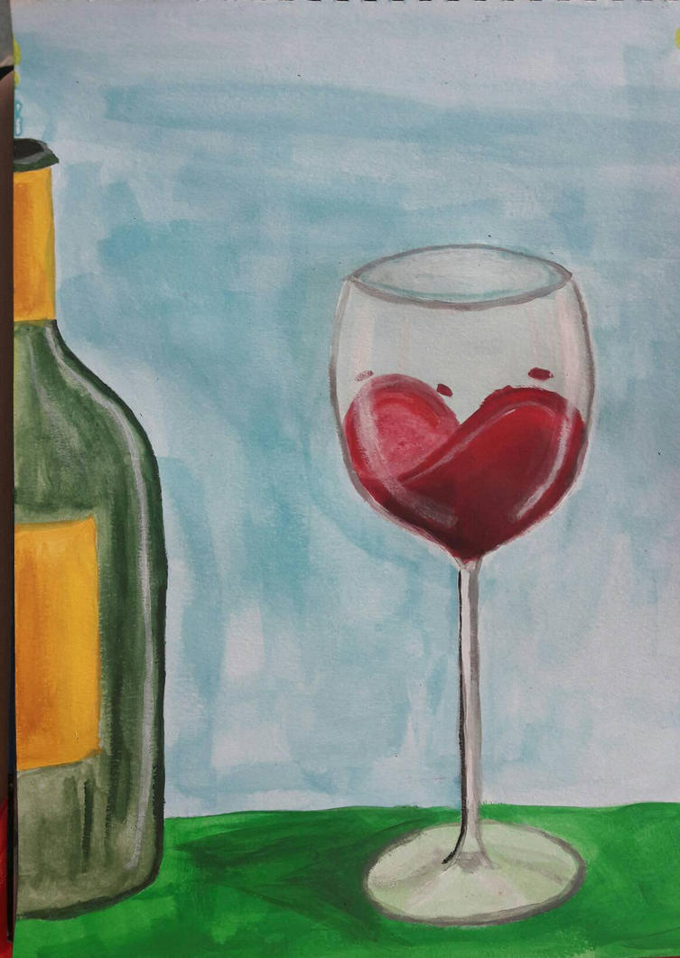 love wine by TaitGallery