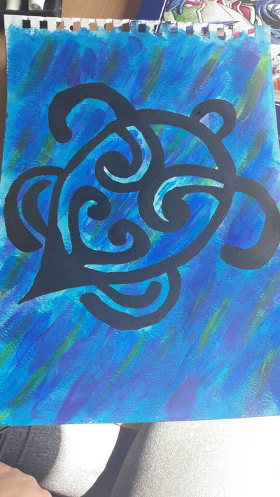 Maori turtle by TaitGallery