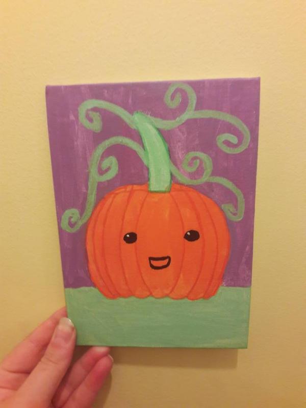 cute pumpkin  by TaitGallery